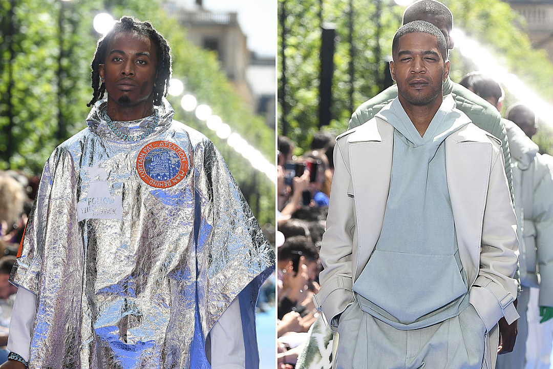 442c208c6 Playboi Carti, Kid Cudi and More Model Virgil Abloh's Debut Louis Vuitton  Collection