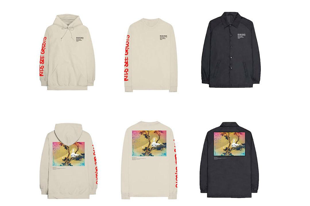 60da5bbe Kanye West and Kid Cudi Release 'Kids See Ghosts' Merchandise - XXL