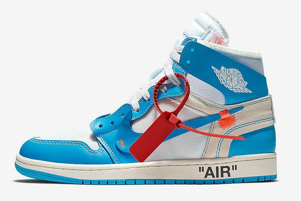9b9783e3c681c8 Virgil Abloh and Nike s UNC Air Jordan 1 to Rerelease