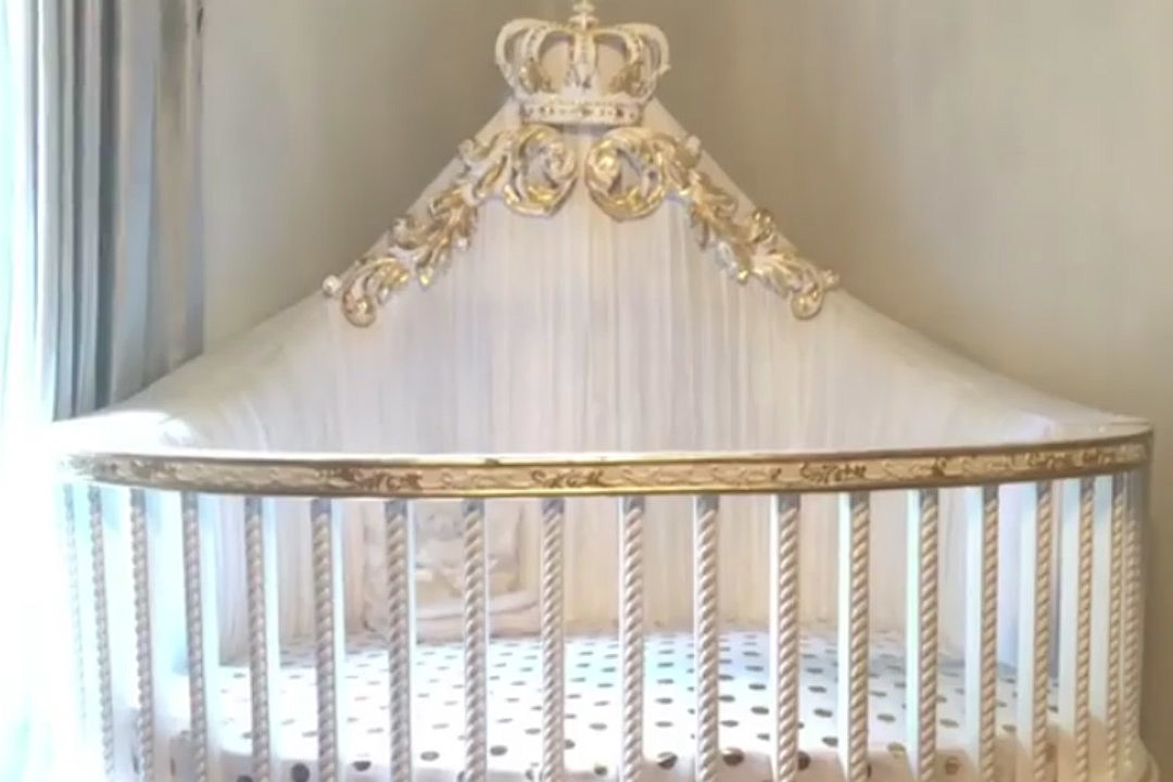 Beau Cardi B Shows Off Daughter Kultureu0027s Luxurious Baby Crib