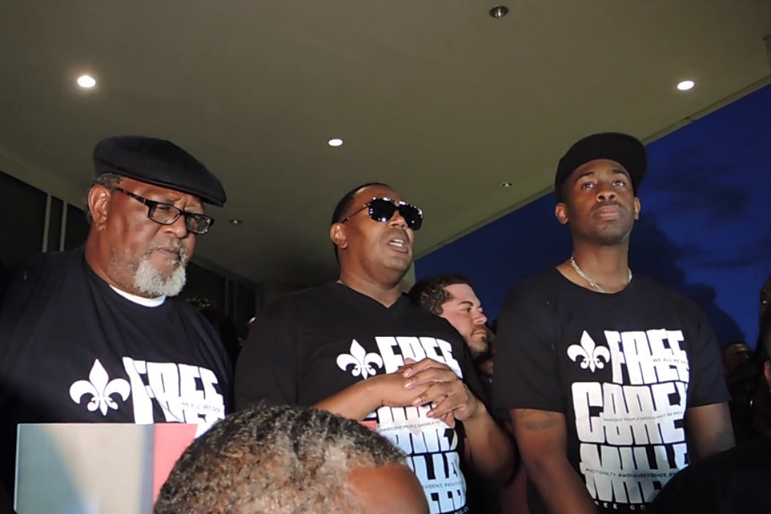 Master P Calls for C-Murder's Release at Rally in New