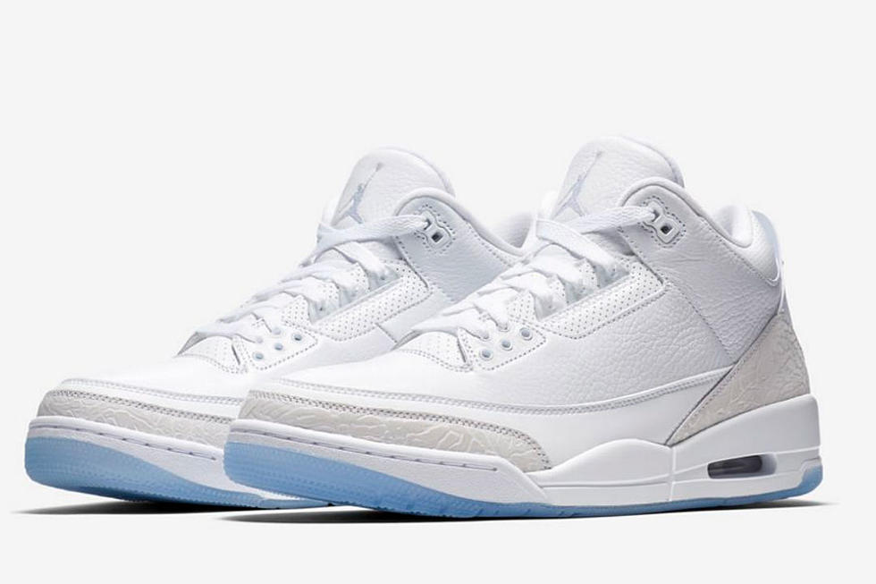 d234c963044 Top 5 Sneakers Coming Out This Weekend Including Air Jordan 3 Retro Pure  White and More