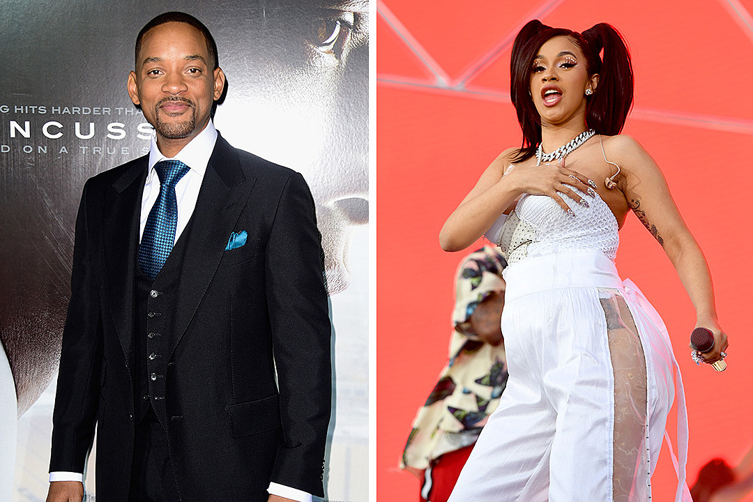 Will Smith Shares Video Congratulating Cardi B Offset On Baby Xxl