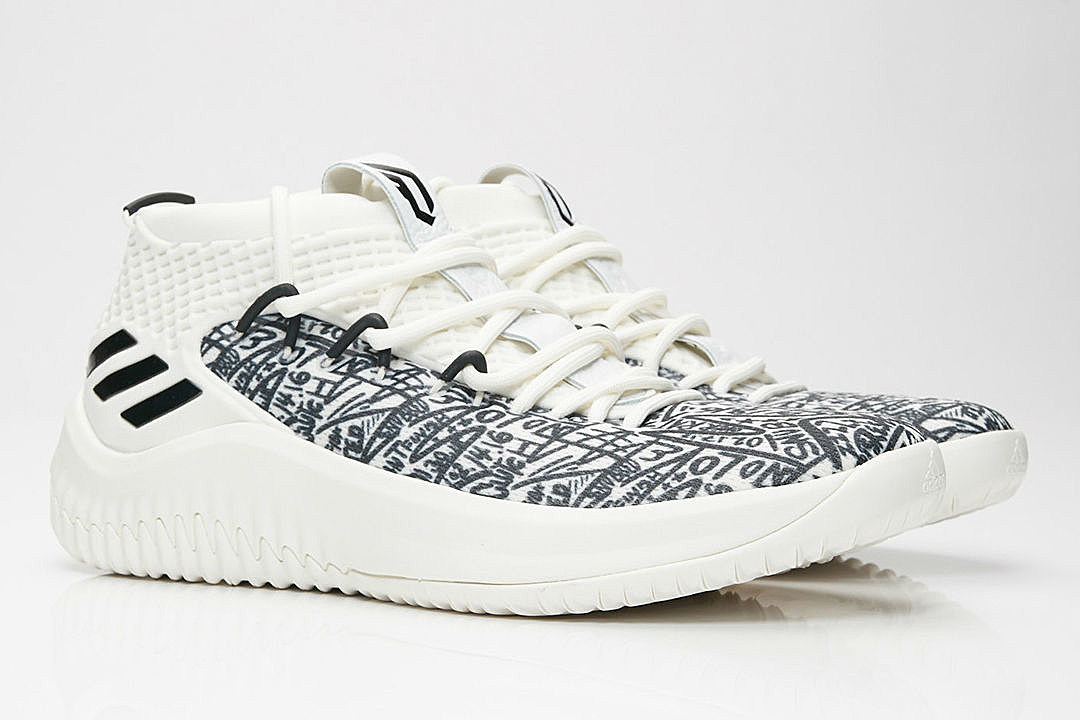 new arrival c8be5 36128 Damian Lillard and Adidas Unveil Dame 4 Stats Sneakers