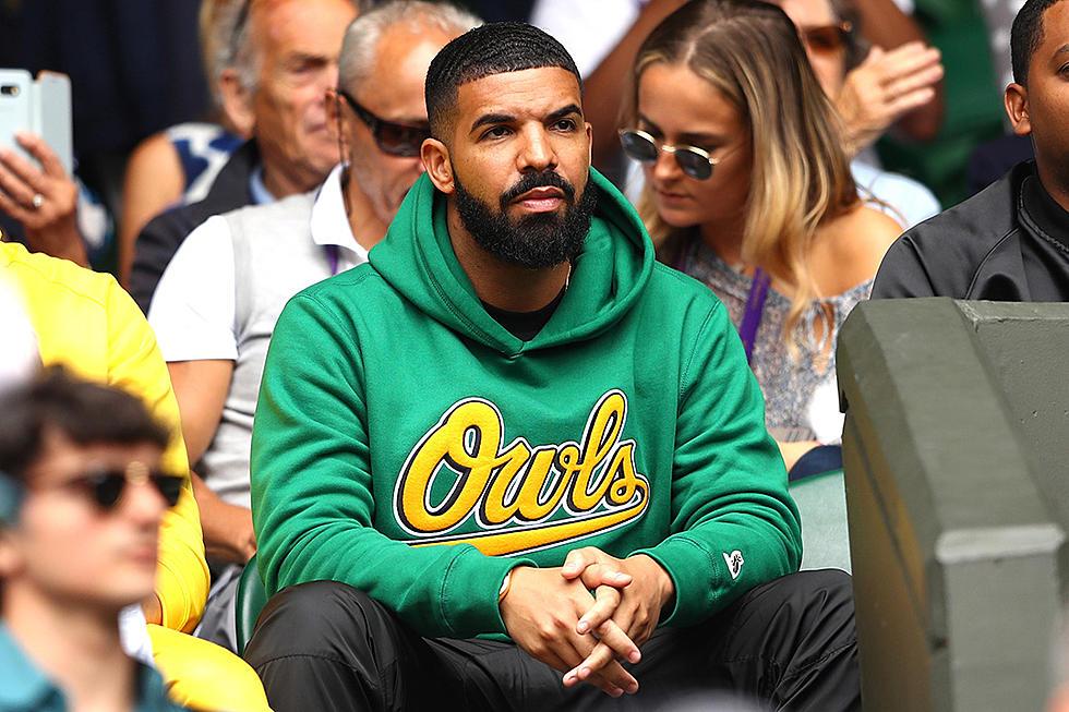 16d40569a9 Drake Flaunts Special Edition Nike Air Max Plus - XXL