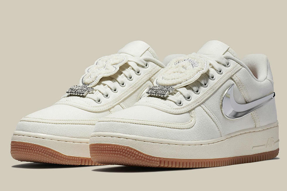 huge selection of e6956 f1202 Travis Scott and Nike Air Force's 1 Gets a Release Date - XXL