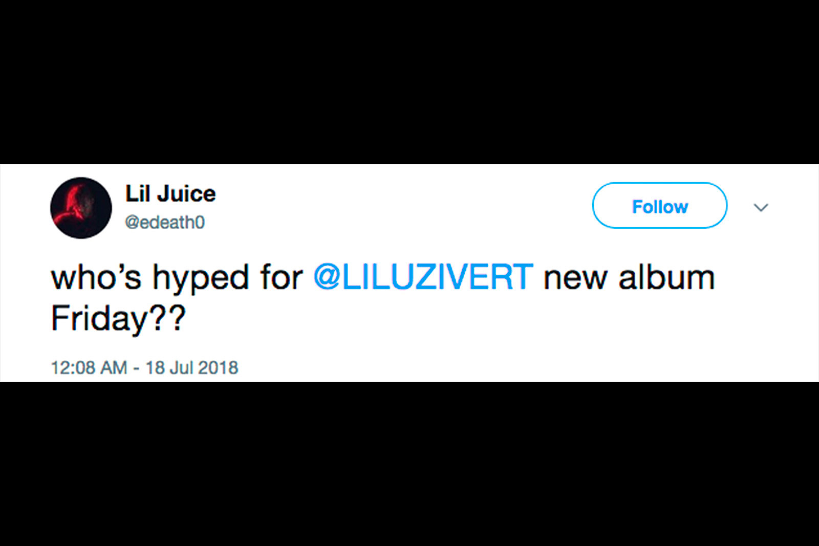 Lil Uzi Vert's Fans Think 'Eternal Atake' Is Rapper's New
