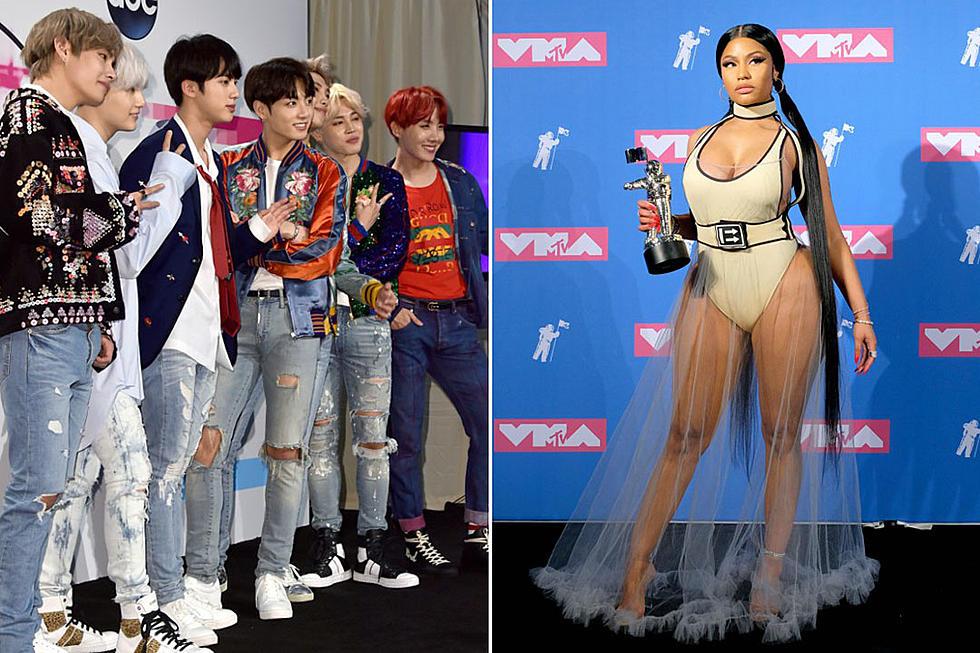 BTS Featuring Nicki Minaj