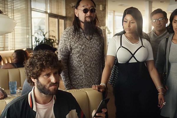 Nicki Minaj Quavo And Lil Dicky In Madden Nfl 19 Commercial Xxl