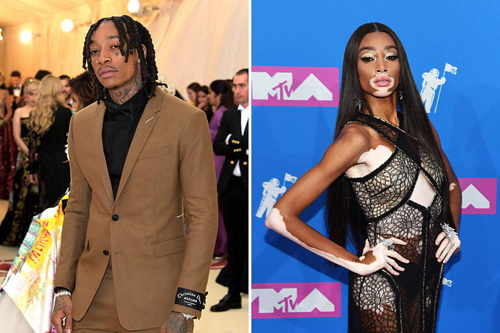 Wiz Khalifa Wears Chain With Winnie Harlow S Name Xxl
