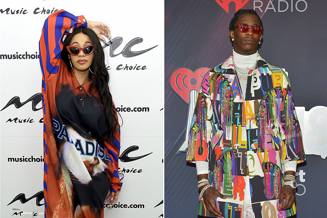 1d8c0d8a9f1c Cardi B and Young Thug Win 2018 Teen Choice Awards - XXL