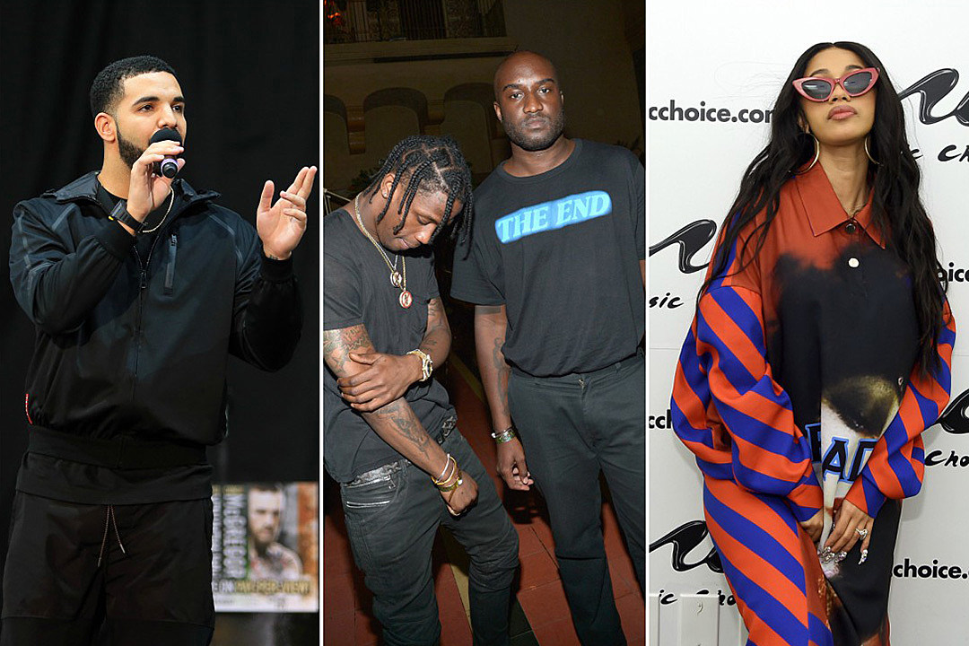 Virgil Abloh Drops Hour-Long Mix Featuring Drake, Cardi B