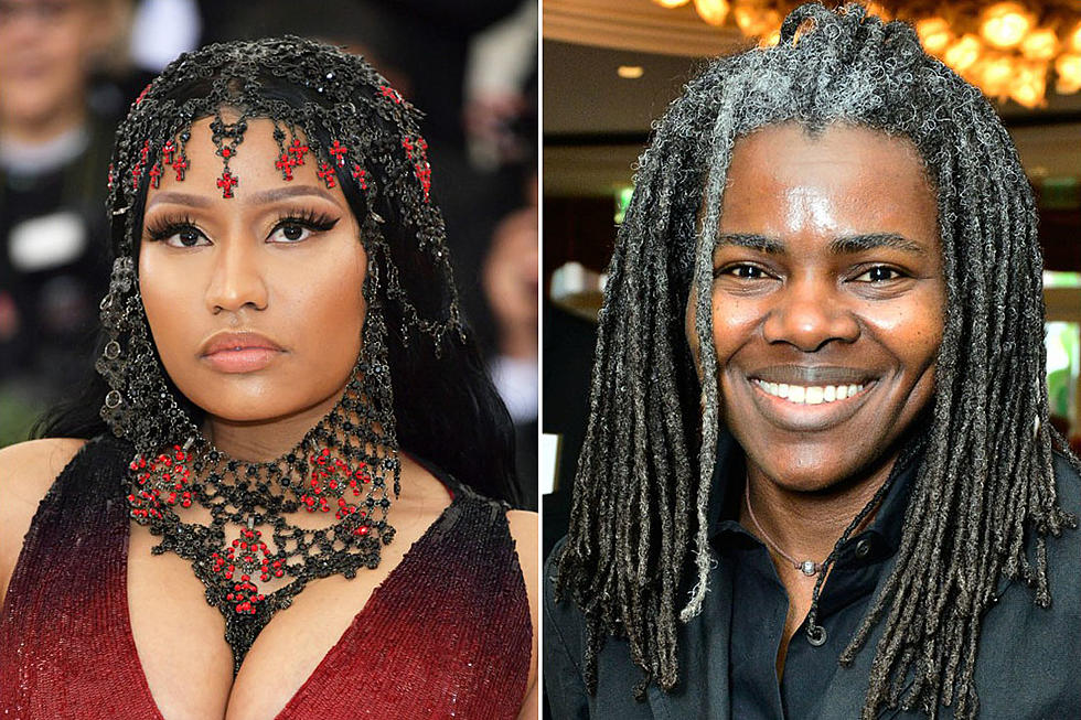 Nicki Minaj May Delay 'Queen' Album to Clear Tracy Chapman