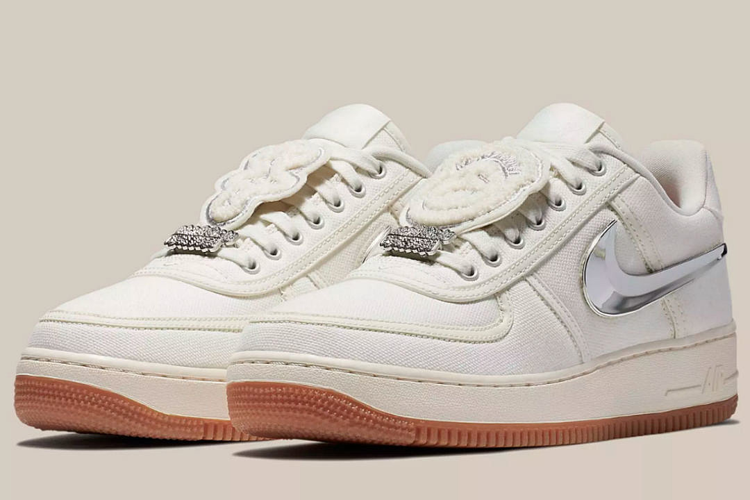 7f5272ef749 Here's Where You Can Buy Travis Scott's Nike Air Force 1 Sail - XXL