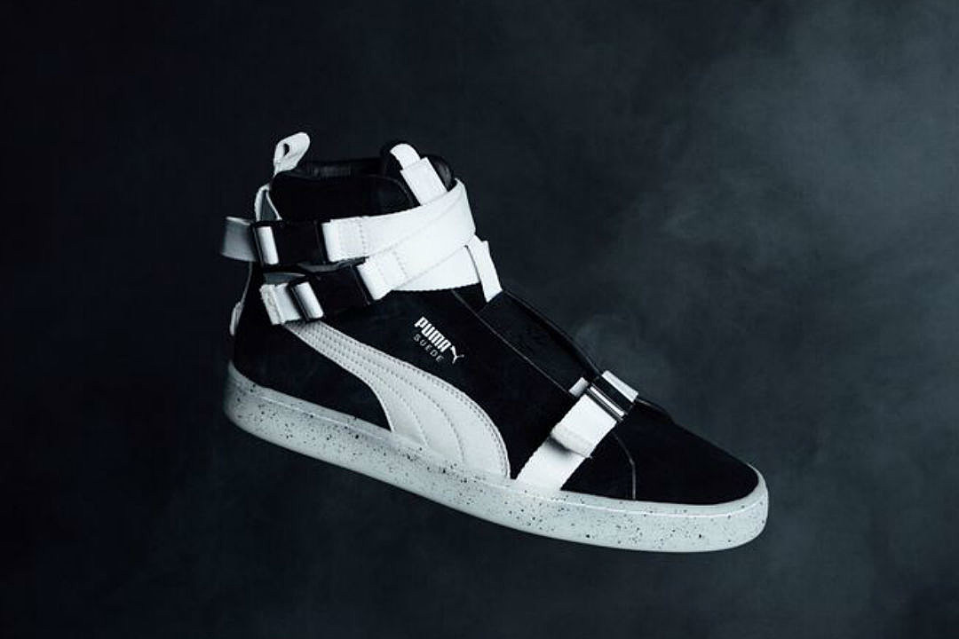 9bed32b1f626 The Weeknd and Puma Unveil Military-Inspired Suede Sneakers - XXL