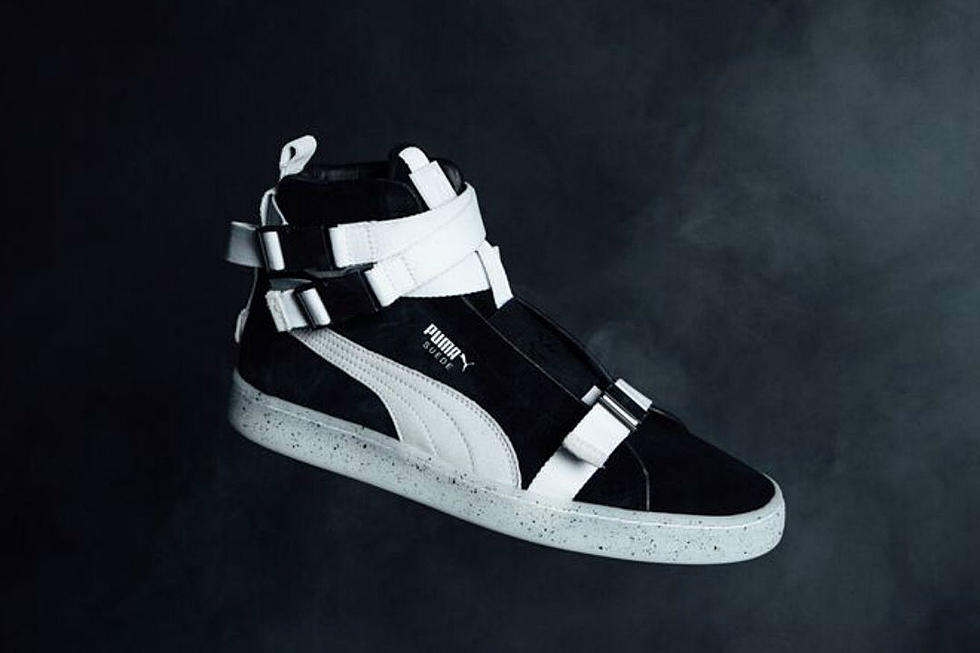 timeless design 5b454 5c365 The Weeknd and Puma Unveil Military-Inspired Suede Sneakers ...