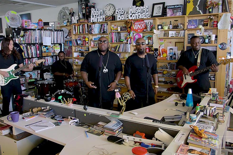 Tech N9ne's Tiny Desk Concert: Krizz Kaliko Joins for