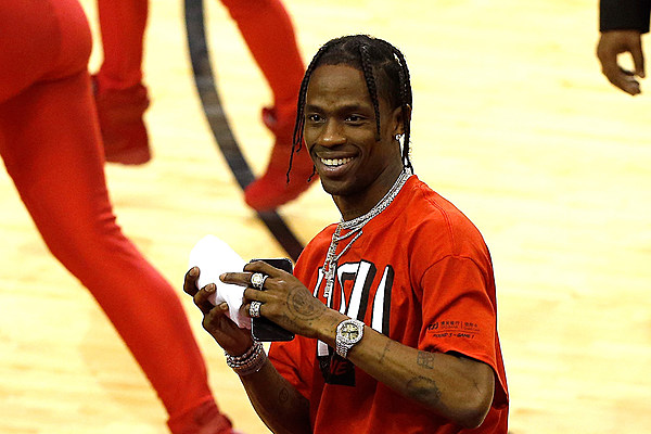 Nike Vintage Nike Hoodie Black Travis Scott | Grailed
