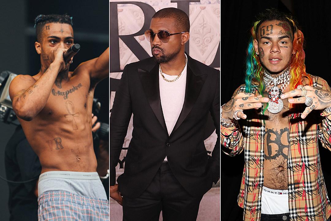 Kanye West's 'Yandhi' Album to Feature XXXTentacion & 6ix9ine - XXL