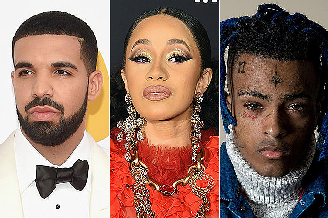 bce5050e2f09 Drake, Cardi B & More Nominated for 2018 American Music Awards - XXL