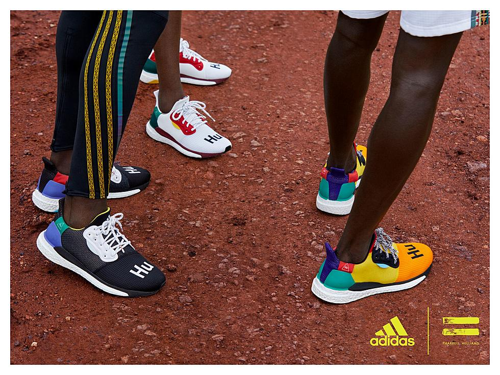 premium selection 343ef 3dd08 Pharrell Williams and Adidas Present SolarHu Collection - XXL