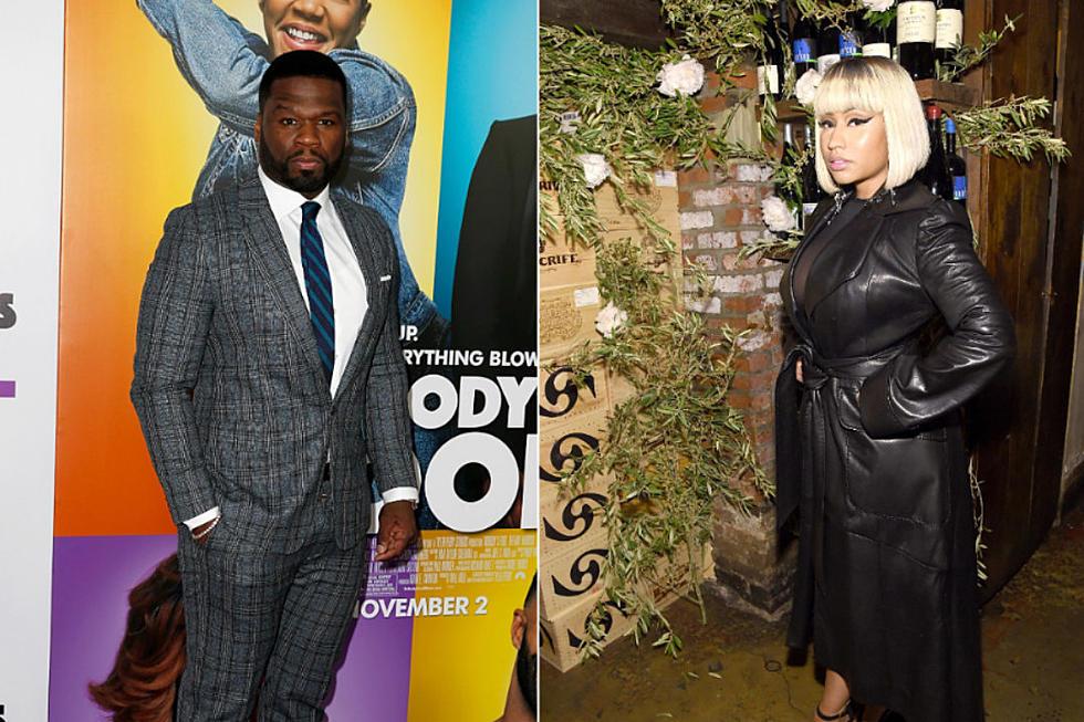 577127c424e 50 Cent Supports Nicki Minaj in Argument With Steve Madden - XXL