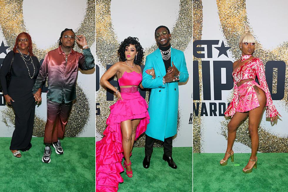 9dd6e6abd 2018 BET Hip Hop Awards Red Carpet  Gucci Mane