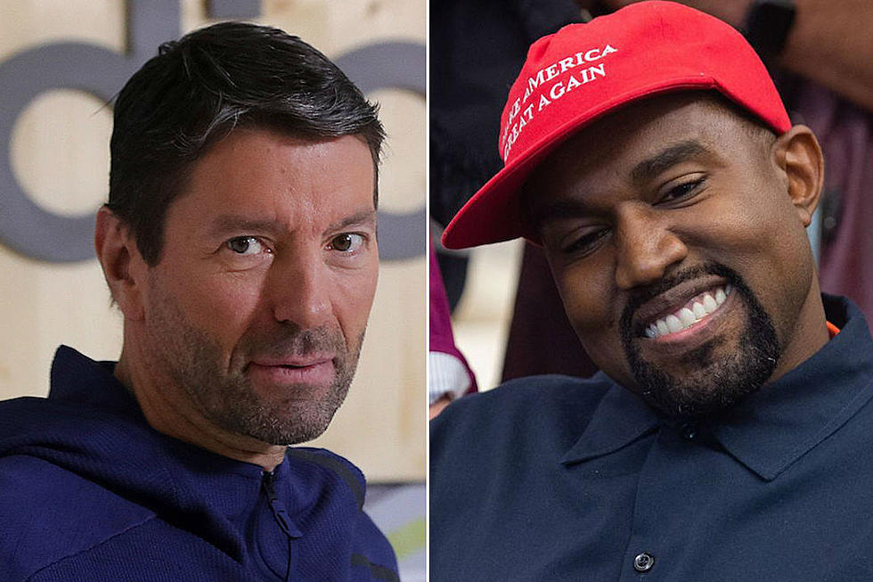 2205ff7b9953 Adidas CEO Says the Brand Signs Up for Kanye West s Creative Work Not His  Statements