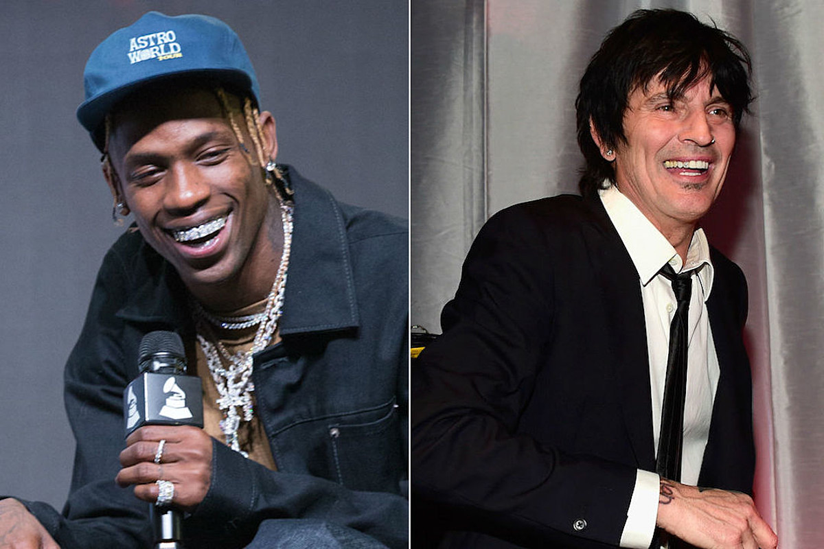 5522cb495def Travis Scott Accused by Motley Crue's Tommy Lee of Ripping Off Stage Designs