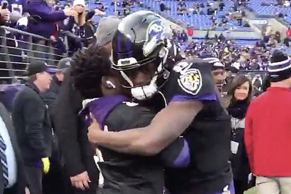 Kodak Black Celebrates Baltimore Ravens Win With Qb Lamar