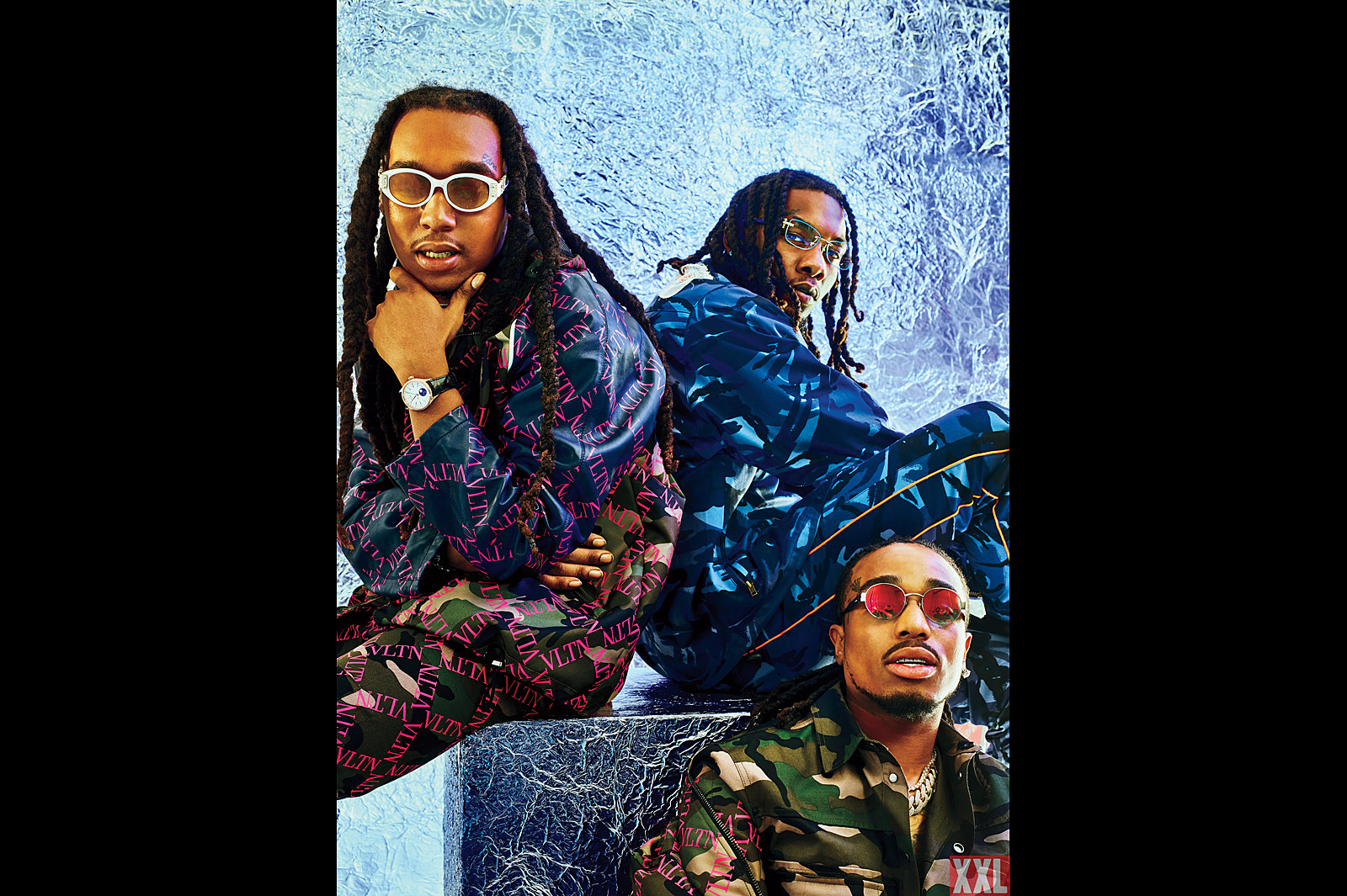 5c7ad4857f3 Migos Juggle Group Fame and Solo Stardom - XXL