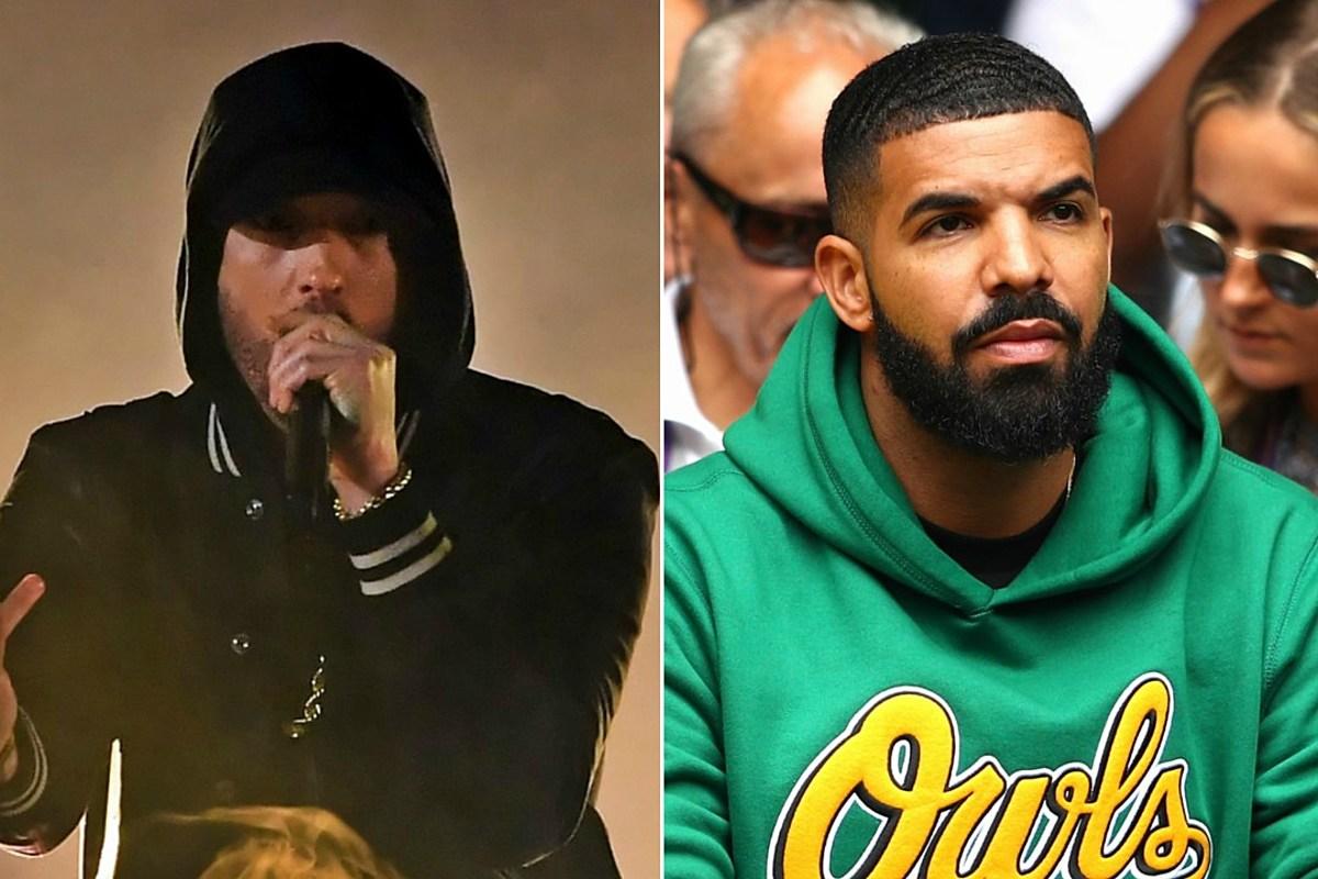 Eminem & Drake Nominated for Best Rap Song at 2019 Grammy