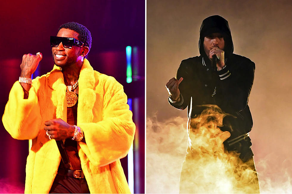 Gucci Mane Questions Why People Call Eminem the King of Rap