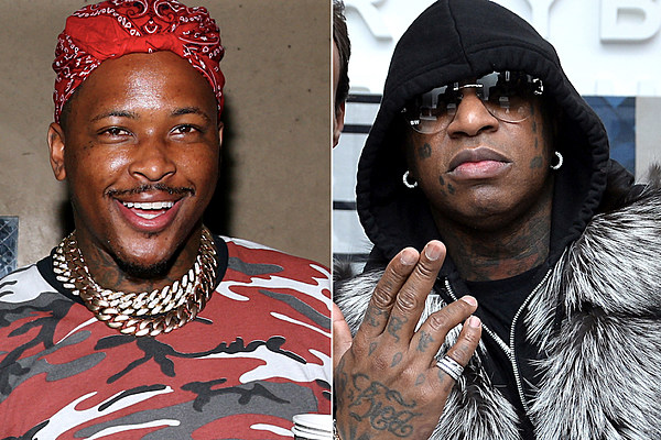 YG Receives $20,000 From Birdman After Winning Football ...