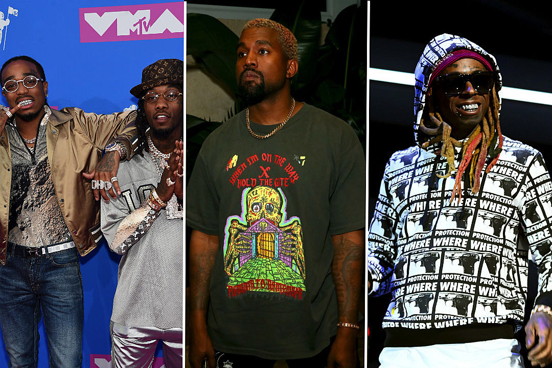 bb0d895547f2 Kanye Hits Studio With Migos and More for New Album - XXL