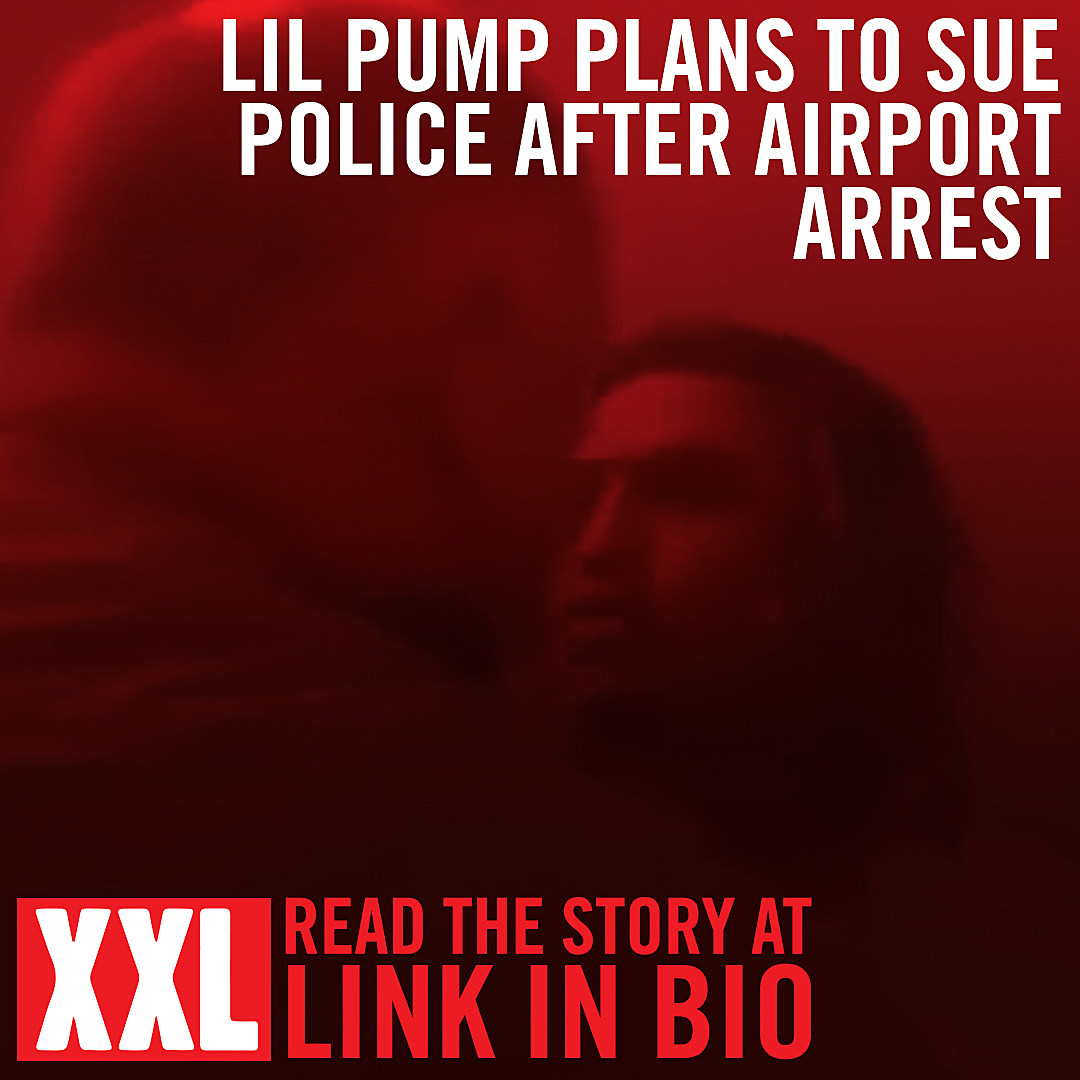 Lil Pump Plans to Sue Police Department After Airport Arrest