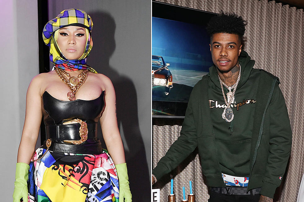 Nicki Minaj Remixes Blueface Song With Bust Down Barbiana - tatiana blue face song id for roblox