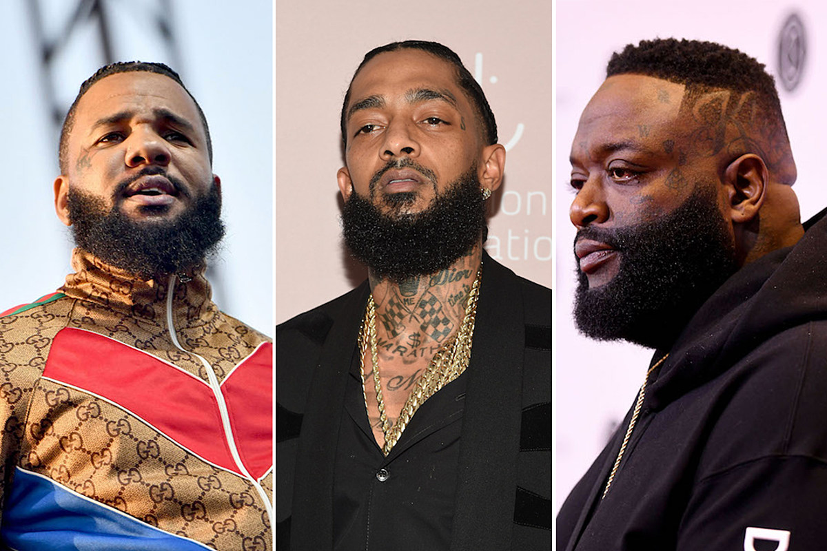 3705565b6 7 Celebrities With Tattoos Inspired by Nipsey Hussle - XXL