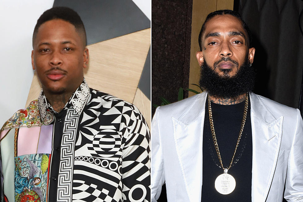 YG Donating Percentage of Songs on Album to Nipsey Hussle's