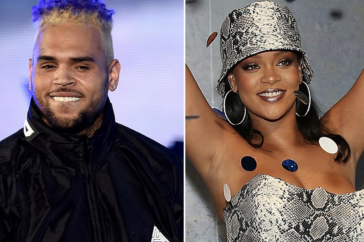 c6abccfaf89 Chris Brown Calls Rihanna a Queen, Asks Her to Drop New Music - XXL