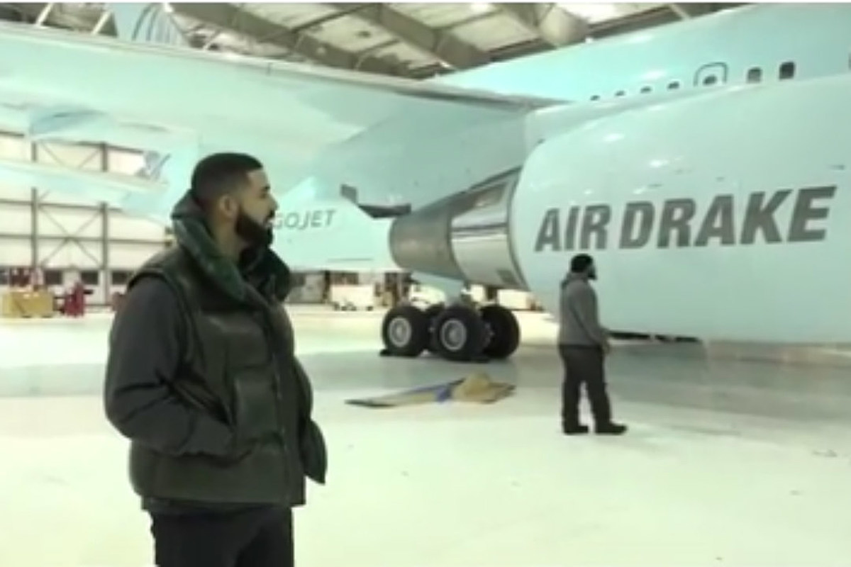 Drake Got His Own Airplane and It's Absolutely Ridiculous