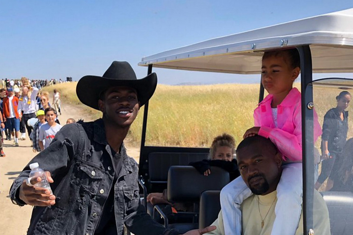 Lil Nas X Asks Kim Kardashian to Send Picture She Took of Him and Kanye West - XXLMAG.COM