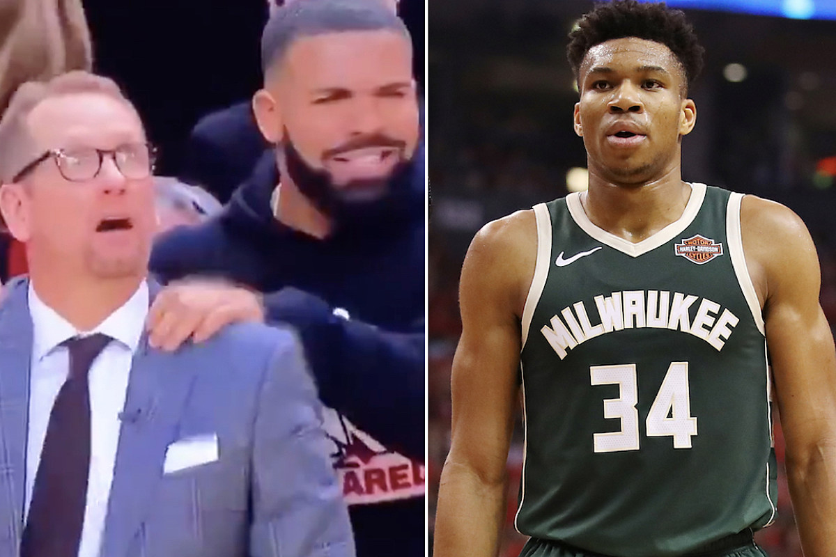 78c1c9062a0 Giannis Antetokounmpo Rep Rips Drake for Trash Talk - XXL