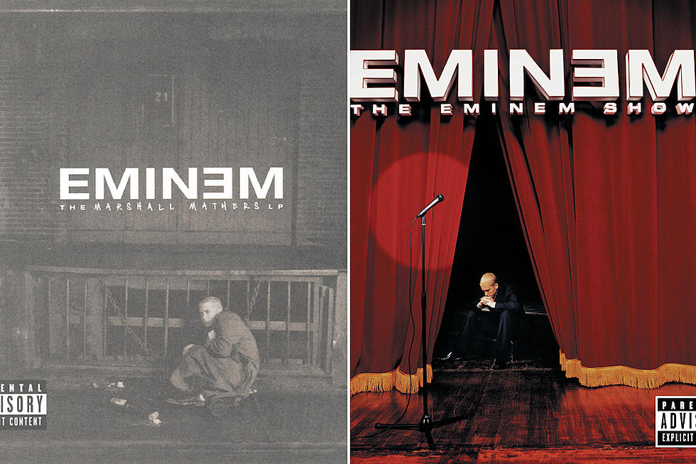 How Eminem Peaked With 'Marshall Mathers LP' & 'The Eminem