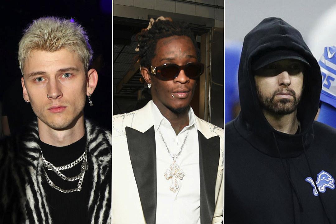 Young Thug Says Machine Gun Kelly Murdered Eminem