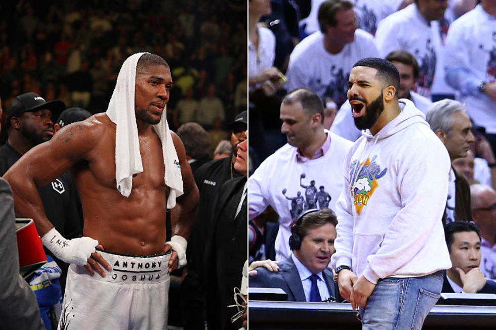 Boxer Anthony Joshua Says He'll Break Drake Curse, Loses in