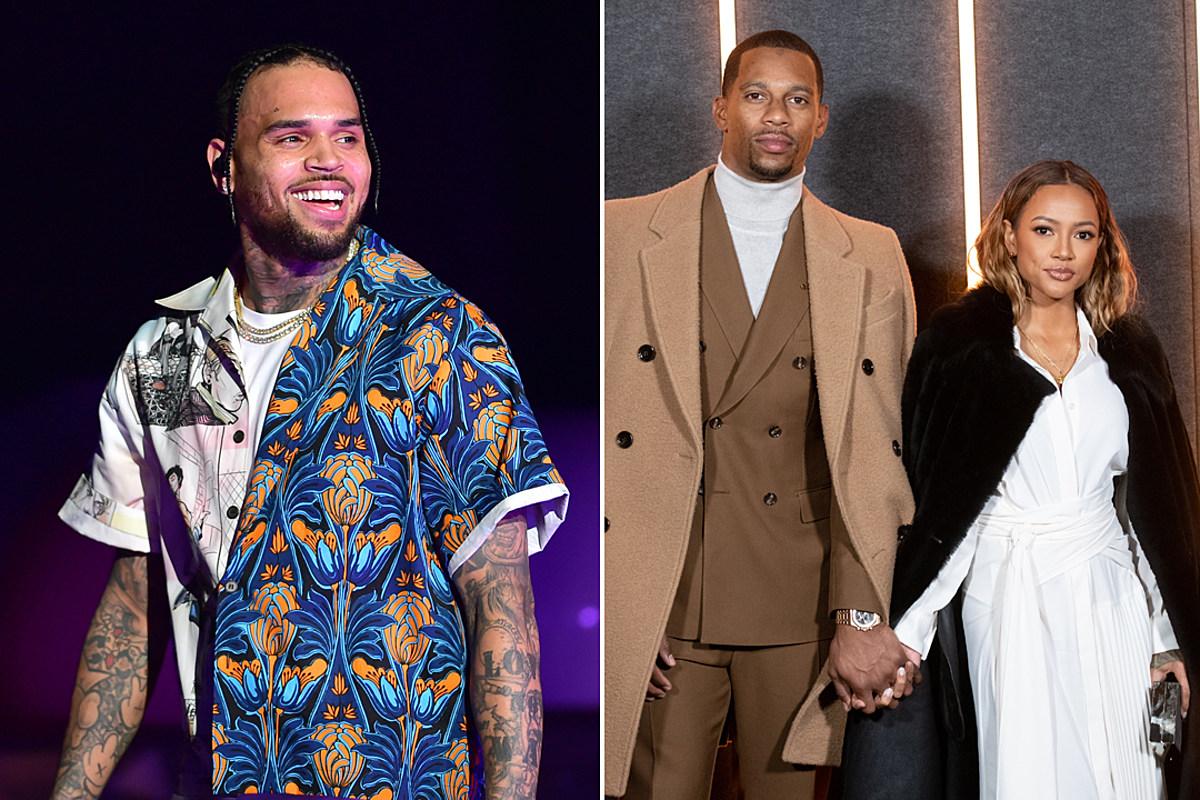 Chris Brown Goes After Ex Karrueche Tran's Boyfriend Victor Cruz - XXL
