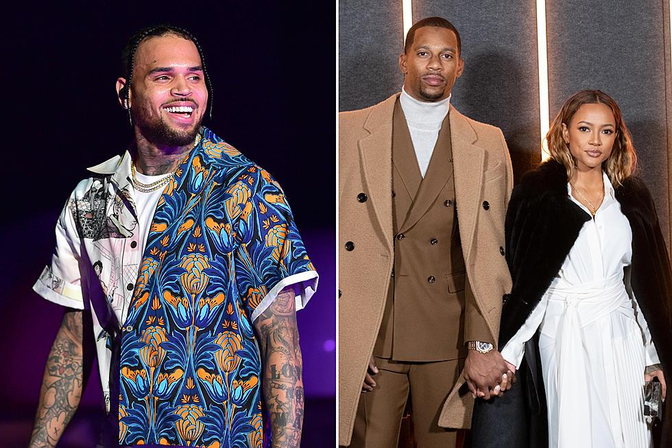 Chris Brown Goes After Ex Karrueche Tran's Boyfriend Victor