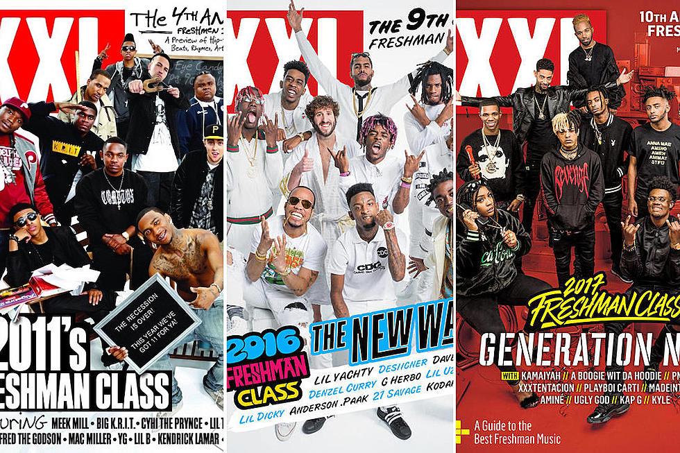 Here's Every XXL Freshman Cover Since 2007 - XXL