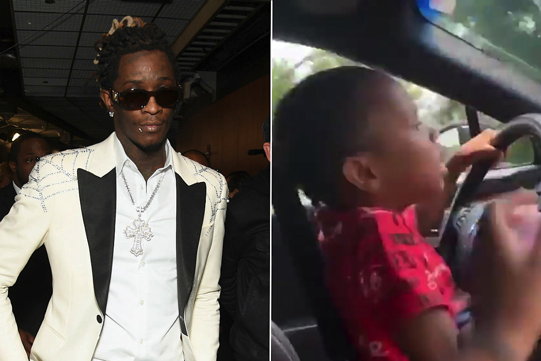 Video Appears to Show Young Thug\u0027s Underage Daughter Driving